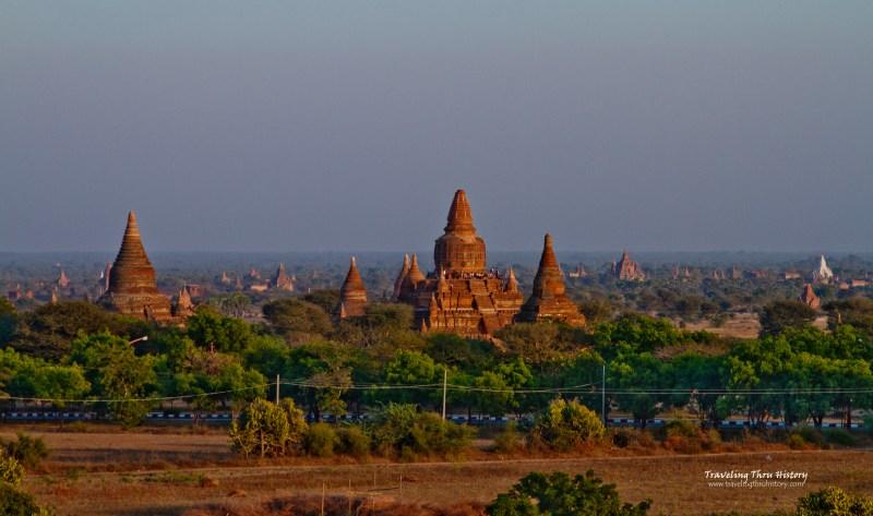 Bagan, Myanmar, Burma, Ruins, Temples, Pagoda, Paya