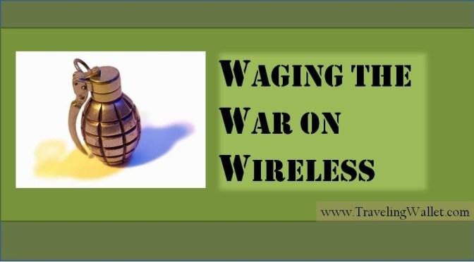 travelling wallet wireless war