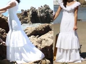 Traveling wallet roamer wedding dress