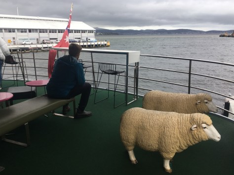 Ferry to the MONA