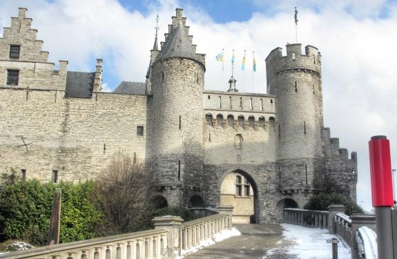 Antwerp Castle Belgium