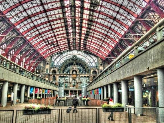 Central Station, Antwerp Belgium