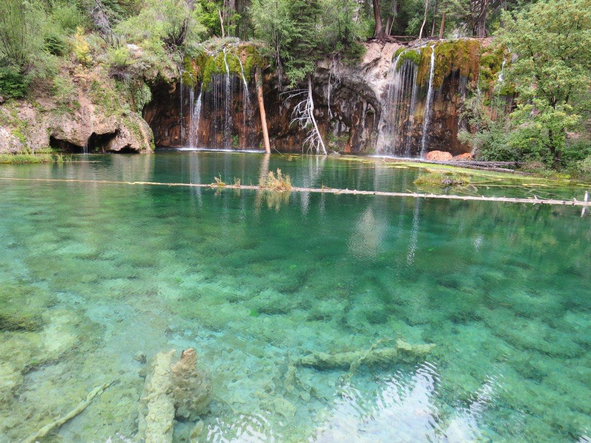Driving Through Glenwood Canyon and Hiking to Hanging Lake