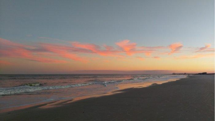 Fernandina Beach sunset.