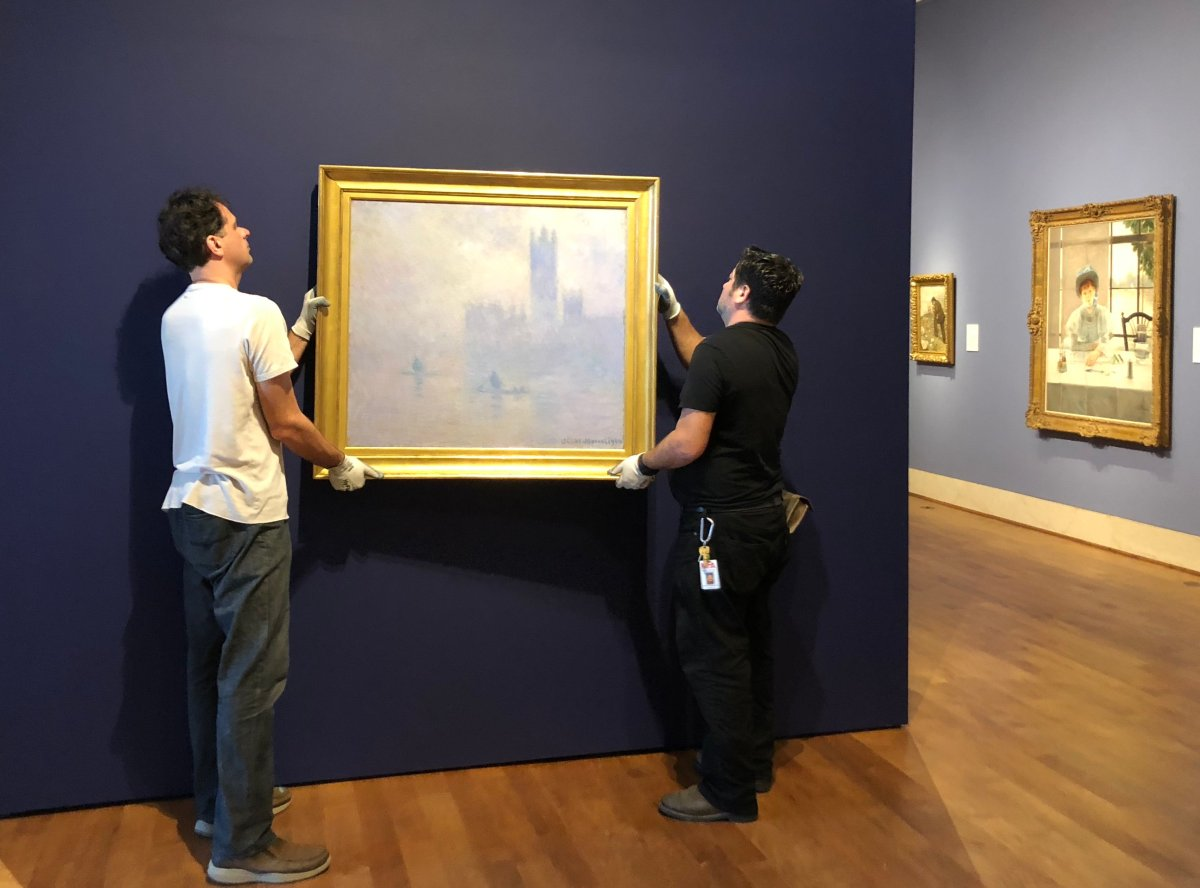 Claude Monet back at 'home' in St. Petersburg, FL