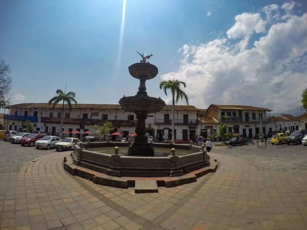 Plaza Mayor, Santa Fe de Antioquia