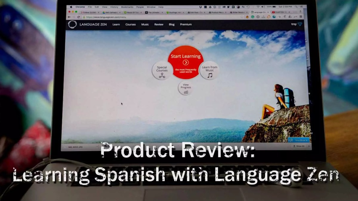 Product Review: Learning Spanish with Language Zen