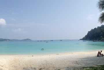 A beach at the Perhentian Islands