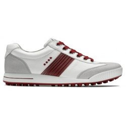 Ecco Street HydroMax™ Golf Shoe 150574 (Concrete/White/Brick)