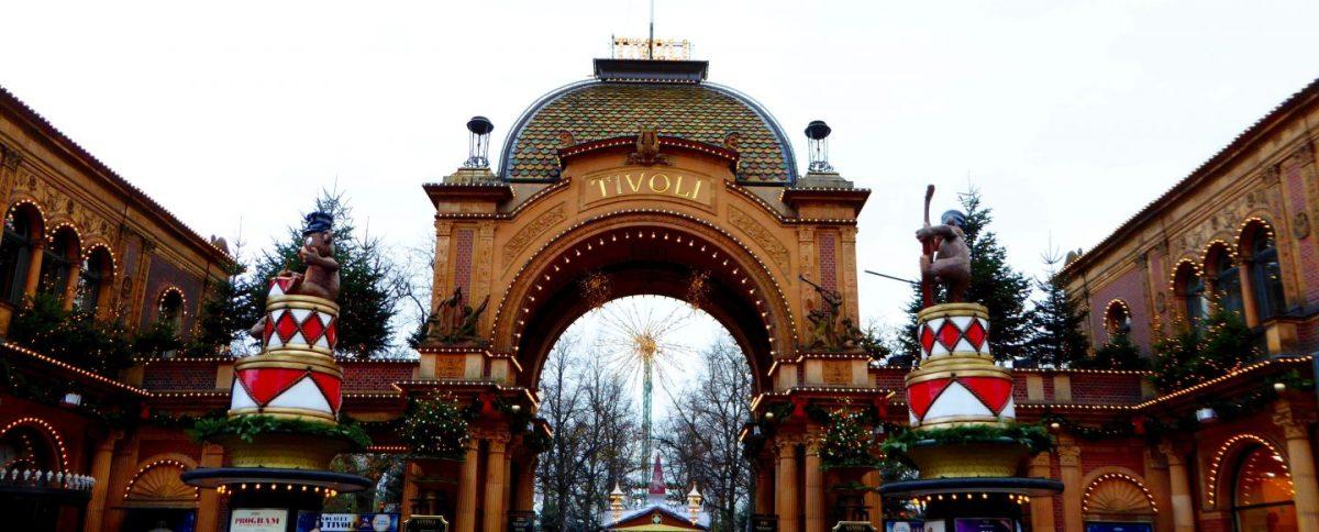 Family day out at Tivoli Gardens, Copenhagen