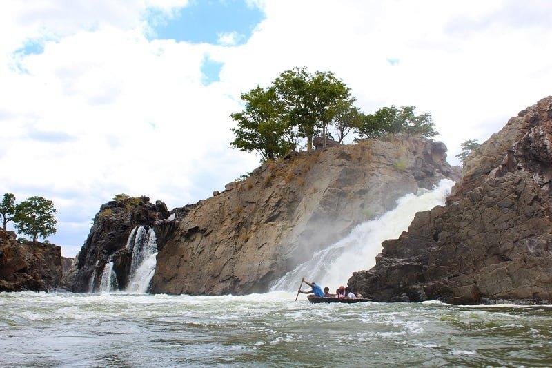 Hogennakal Waterfalls
