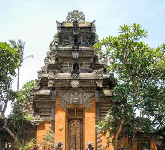 temple in Ubud