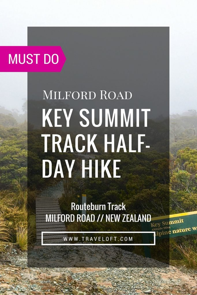 Key Summit Track