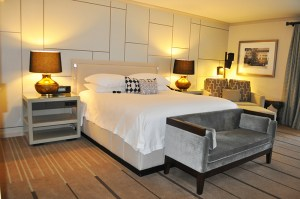 Deluxe guest room in the Paradise Wing.