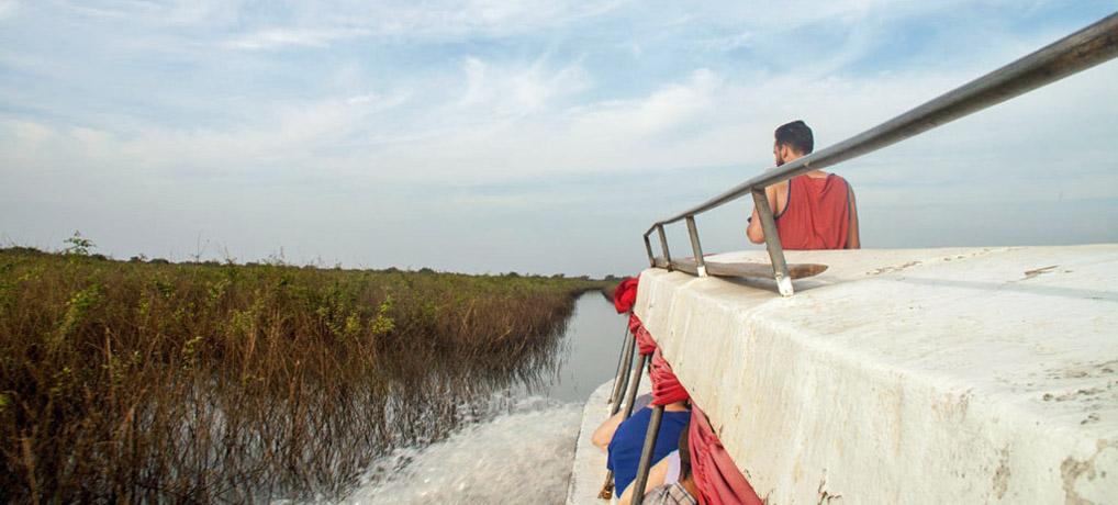 Von Siem Reap nach Battambang: Eine Abenteuerfahrt über den Tonle Sap und Sangker River