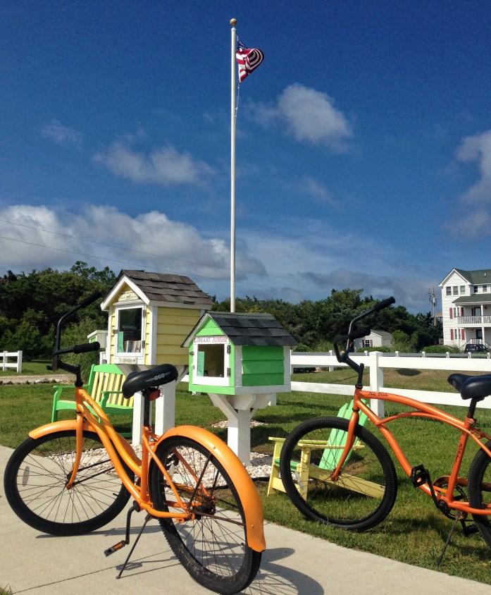 Bike-rental-outer-banks-hatteras-little-library