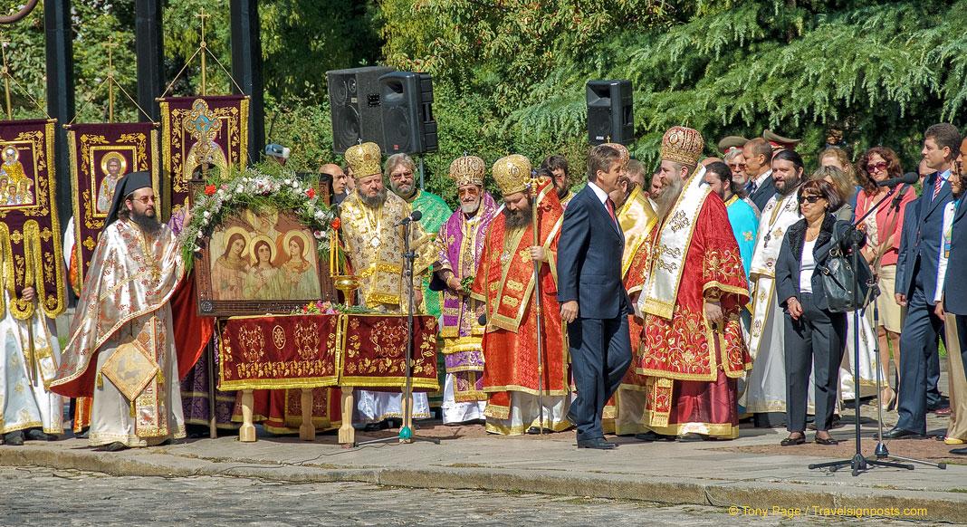 St. Sofia Day Celebrations in Sofia, Bulgaria