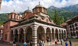 Rila Monastery, like something out of Shangri-La