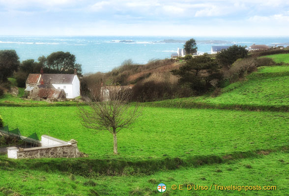Beautiful Guernsey countryside