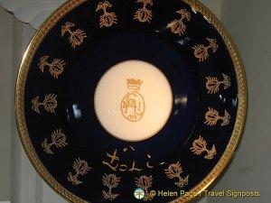 Limoges porcelain commissioned for Dali