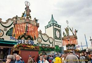 Augustiner Brau Oktoberfest Tent