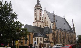 Leipzig's Thomaskirche Is Where Bach's Tomb Lies