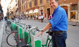 Pedal Power takes off in the Eternal City