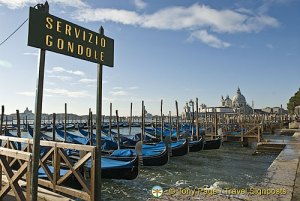 Gondola Station, Venice Grand Canal