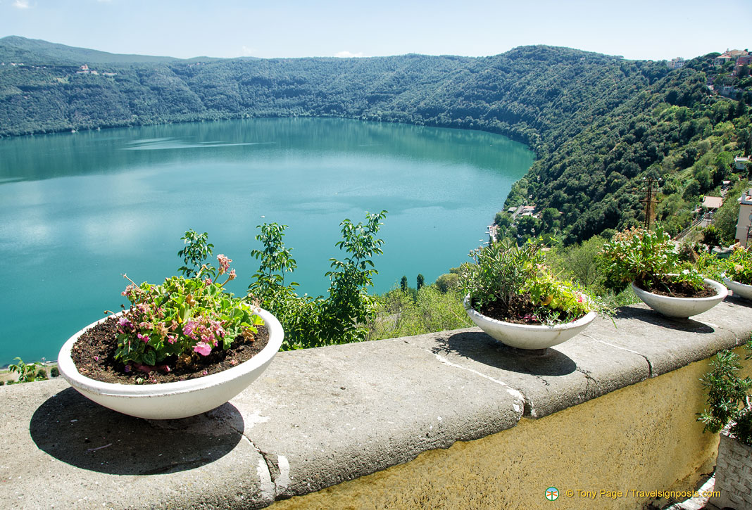 Castel Gandolfo - The Summer Residence of the Pope