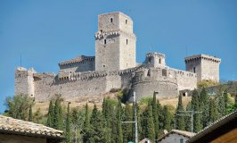 Rocca Maggiore – A Medieval Fortress Towering Over Assisi