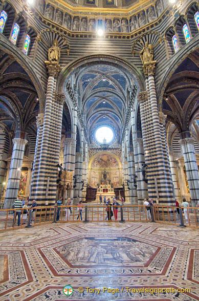Siena Duomo Interior