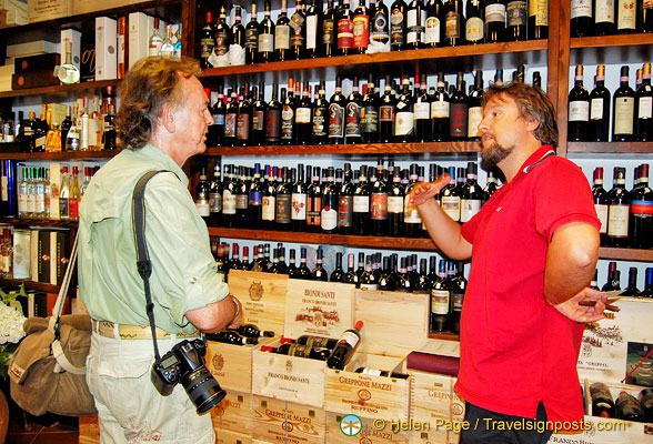 Buying Tuscan wines