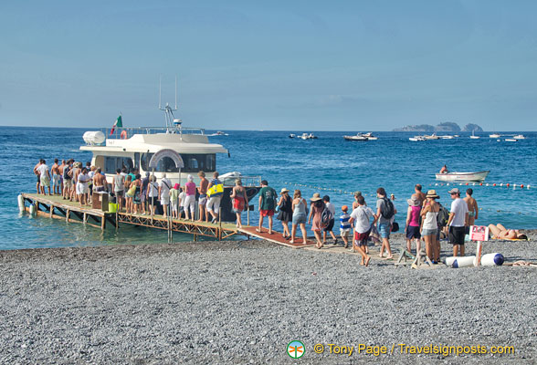 Positano to Capri