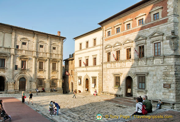 Piazza Grande in Montepulciano