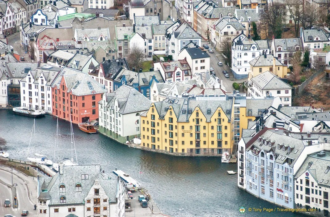 Alesund - Norway's Art Nouveau Town