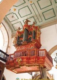 Faro Sé's eccentric organ