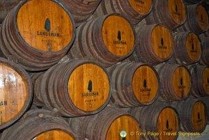 Sandeman's port cellar - Oporto