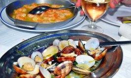 A Seafood Feast at O Farol, Cacilhas