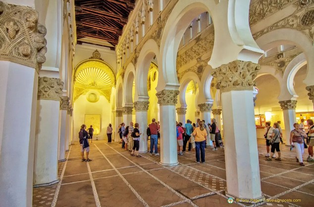 Synagogue de Santa Maria la Blanca, Toledo