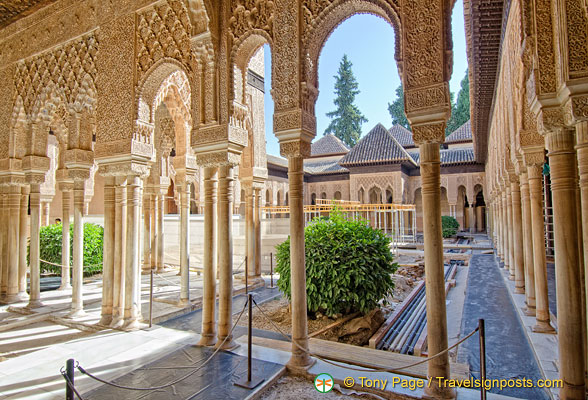 Alhambra Courtyard of the Lions