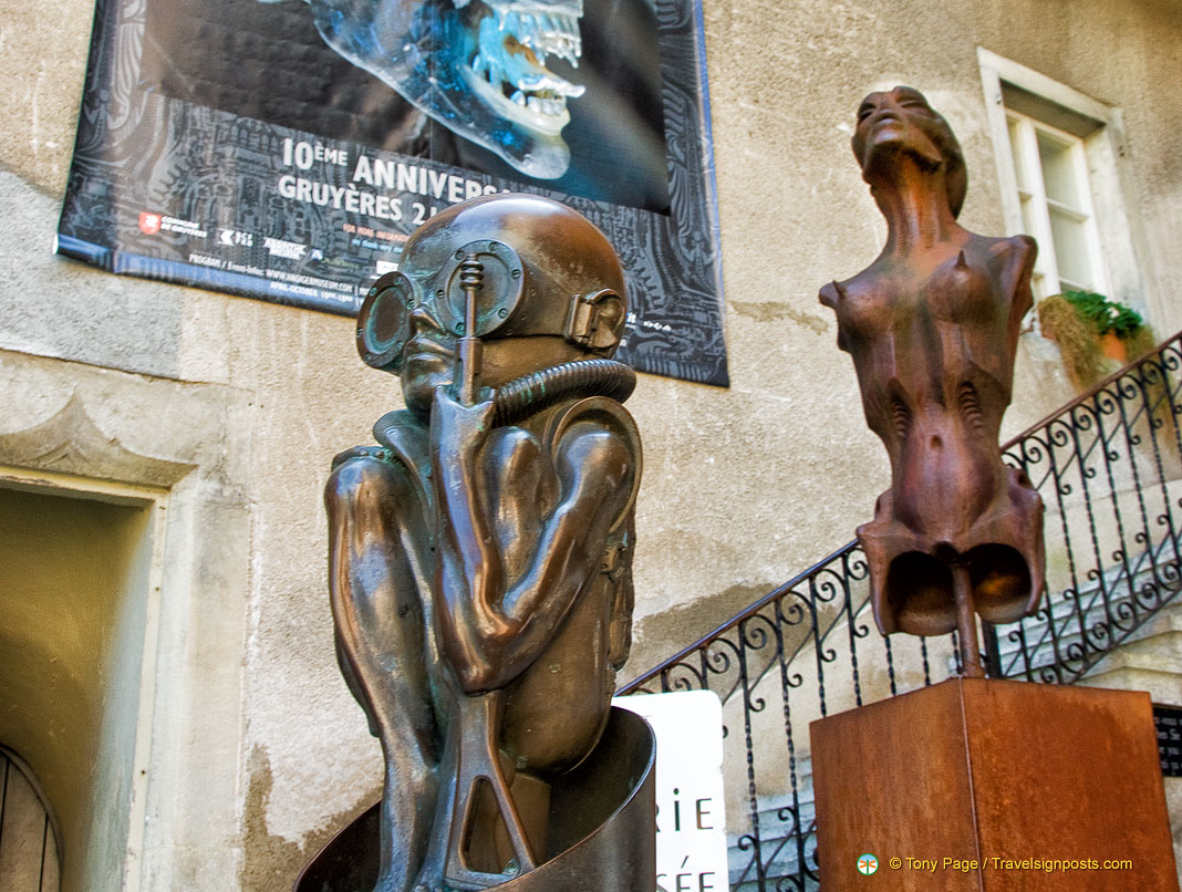 The Giger Museum - An Alien Encounter in Gruyères
