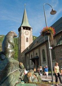 St Mauritius Pfarrei in Zermatt
