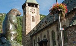 St Mauritius Church in Zermatt