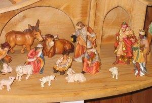 Nativity scene from Oberammergau