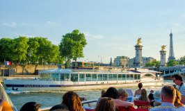 Cruise the Seine through the heart of Paris