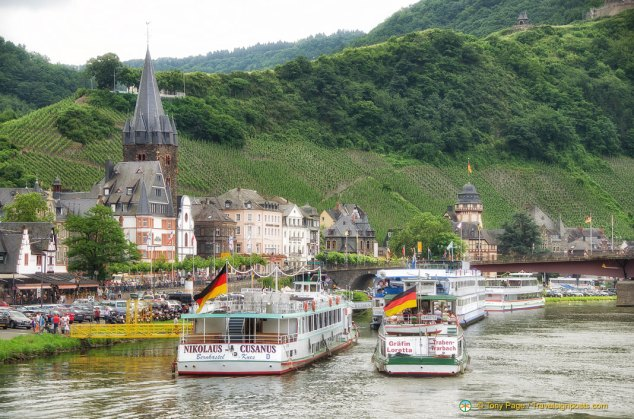 Riverboats in Bernkastel