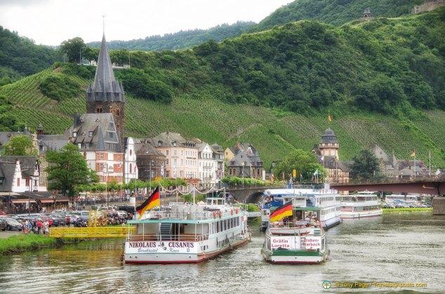 Riverboats in Bernkastel