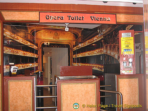 Opera Toilet Vienna
