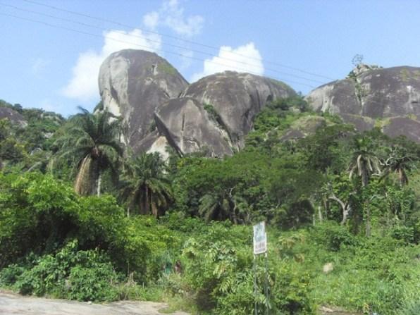 Giant Foot of Ukhuse Oke