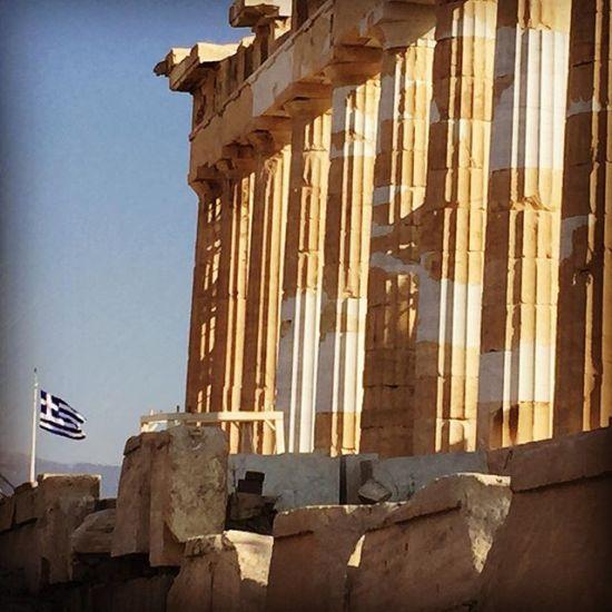 Zu Besuch bei den griechischen Göttern #athens #travel #acropolis #griechenland #greece #instatravel #ruinen #tempel